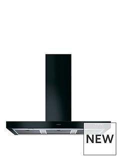 smeg-ks110ble-110cm-symphony-gloss-black-chimney-hood-black