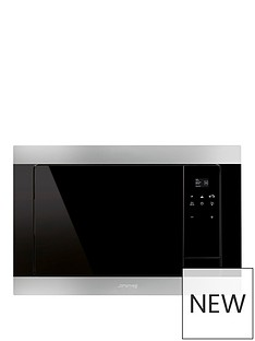 smeg-fmi320x-eclipse-glass-built-in-microwave-oven-with-grill-stainless-steel