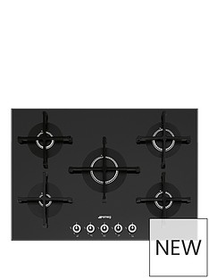 smeg-linea-pv175n-1-72cm-black-glass-built-in-gas-hob-stainless-steel