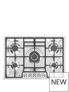 smeg-pgf75-4-72cm-ultra-low-profile-gas-hob-stainless-steel