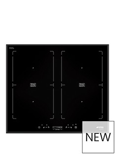 smeg-sim562b-58cm-multizone-angled-edge-glass-induction-hob-with-touch-controls-black
