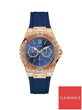 guess-limelight-blue-and-rose-gold-stone-set-dial-blue-silicone-strap-ladies-watch