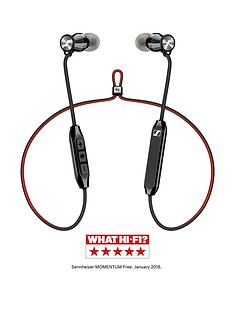 sennheiser-momentum-free-in-ear-bluetooth-headphones-with-bluetooth-42nbspqualcommreg-aptxtrade-integrated-remote-and-up-to-6-hour-battery-life-blackred