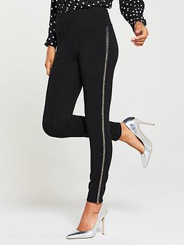 v-by-very-embellished-side-legging-black