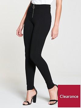 v-by-very-petite-ring-pull-legging-black