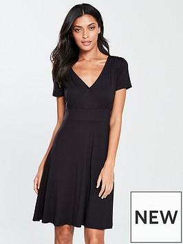 v-by-very-cross-bust-jersey-tea-dress-blacknbsp