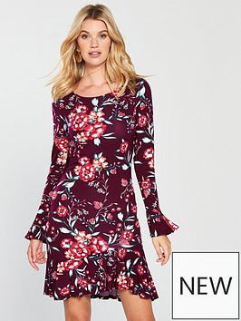 v-by-very-frill-tunic-dress-floral
