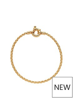 links-of-london-links-of-london-sterling-silver-18kt-yellow-gold-vermeil-belcher-bracelet