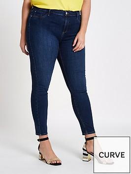 ri-plus-molly-hula-super-skinny-jeans-darknbspblue