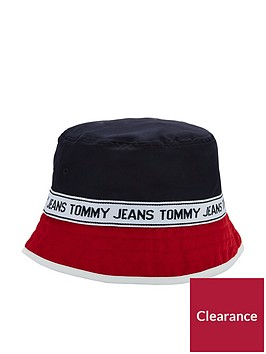 tommy-hilfiger-tommy-jeans-bucket-hat-navyred