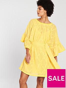 lost-ink-ruffle-sleeve-embroidered-mini-dress-yellownbsp