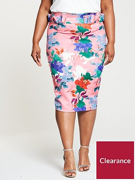 lost-ink-plus-pencil-skirt-bright-floral