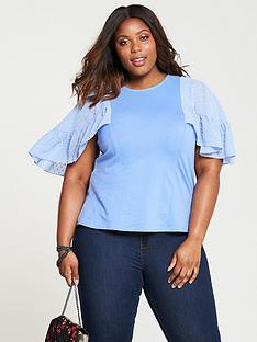 lost-ink-plus-t-shirt-with-dobby-flutter-sleeve-blue