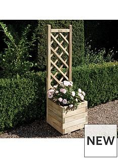 rowlinson-rowlinson-square-planter-amp-lattice