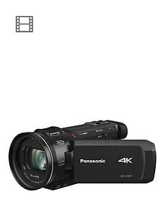 Panasonic HC-VXF1EB-K- 4K, 25mm Wide, 24x zoom, Leica Lens- Black