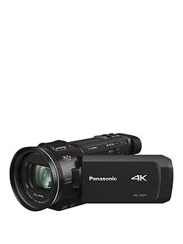 Panasonic Hc-Vxf1Eb-K - 4K, 25Mm Wide, 24X Zoom, Leica Lens - Black