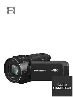 Panasonic HC-VX1 - 4K, 25mm Wide, 24x zoom, Leica Lens- Black