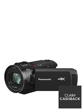 panasonic-hc-vx1-4k-25mm-wide-24x-zoom-leica-lensnbsp--blacknbsppound50-cash-back-available