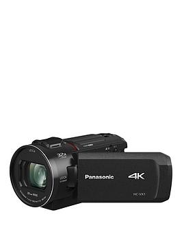 Panasonic Hc-Vx1Eb-K 4K Handheld Camcorder With Zoom Lens - Black