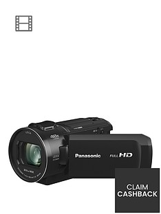 Panasonic HC-V800 - Full HD, 25mm Wide, 24x zoom, Leica Lens- Black