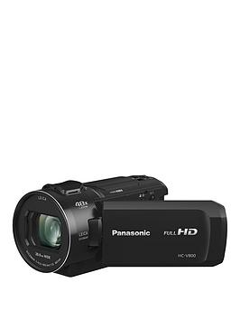 Panasonic Hc-V800 - Full Hd, 25Mm Wide, 24X Zoom, Leica Lens - Black.