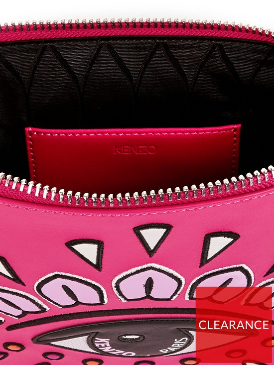2a3f9950469 ... Kenzo A4 Eye Pouch Bag - Pink. View larger