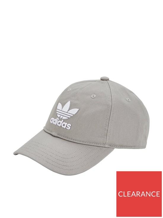 c17117bcf738 adidas Originals Trefoil Cap - Grey
