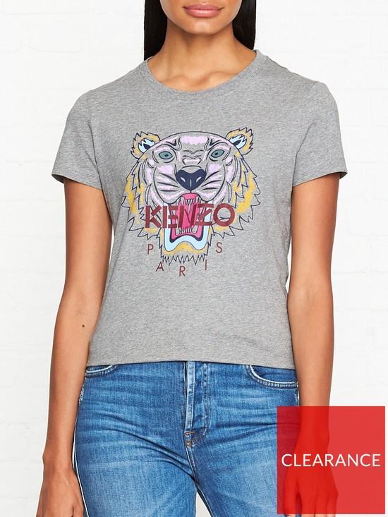 d798d49c Kenzo Classic Tiger T-shirt - Grey | very.co.uk