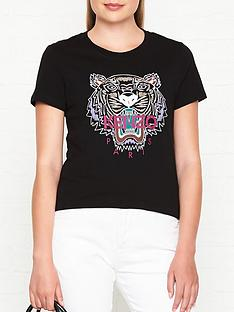kenzo-classic-tiger-head-t-shirt-black