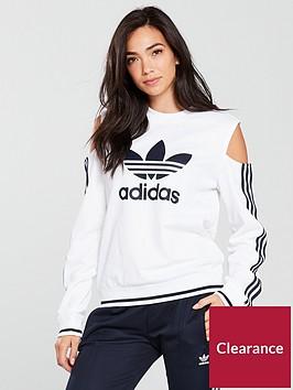 adidas-originals-cold-shoulder-sweat-whitenbsp