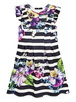 v-by-very-girls-stripe-floral-pleated-dress-multi