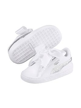 puma-basket-heart-bling-children-trainer