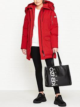 kenzo-technical-faux-fur-parka-coat-red