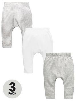mini-v-by-very-baby-unisex-3pk-stripes-marl-joggers