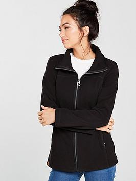 Regatta Fayona Full Zip Fleece Jacket - Black
