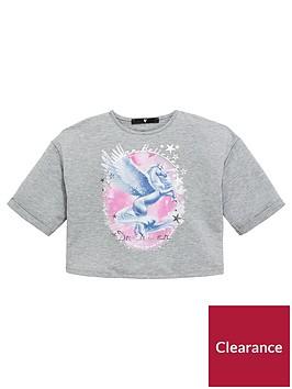 v-by-very-girls-grey-unicorn-t-shirt