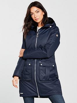 Regatta Romina Waterproof Long Jacket - Navy