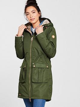 Regatta Romina Waterproof Long Jacket - Khaki