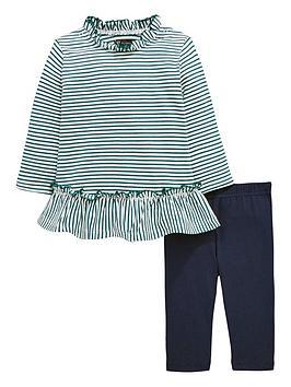 mini-v-by-very-baby-girls-stripe-jersey-frill-dress-amp-legging-set