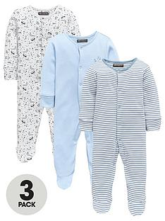 mini-v-by-very-baby-boys-3pk-space-sleepsuits