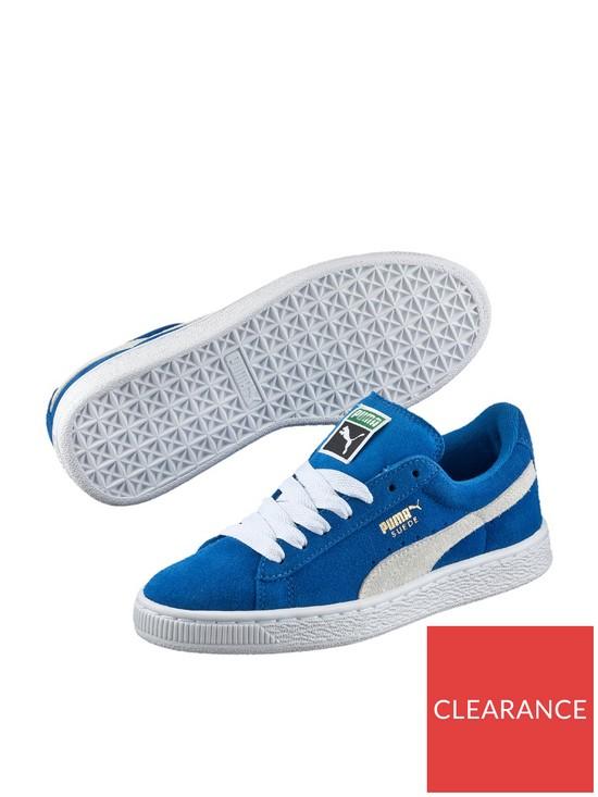 sports shoes e3239 5c2e2 Suede Classic Junior Trainer