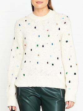 kenzo-bijou-embellished-wool-jumper-cream