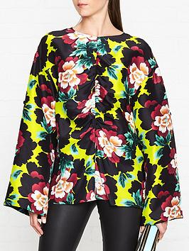 kenzo-floral-print-silk-top--nbspmulti