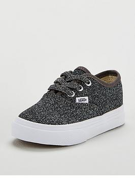 vans-authentic-glitter-infant-trainer