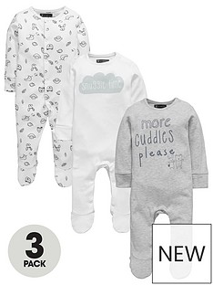 mini-v-by-very-baby-unisex-3pk-slogan-amp-animal-sleepsuits