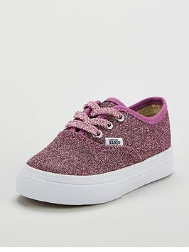 vans-authentic-glitter-infant-trainer-pinknbsp