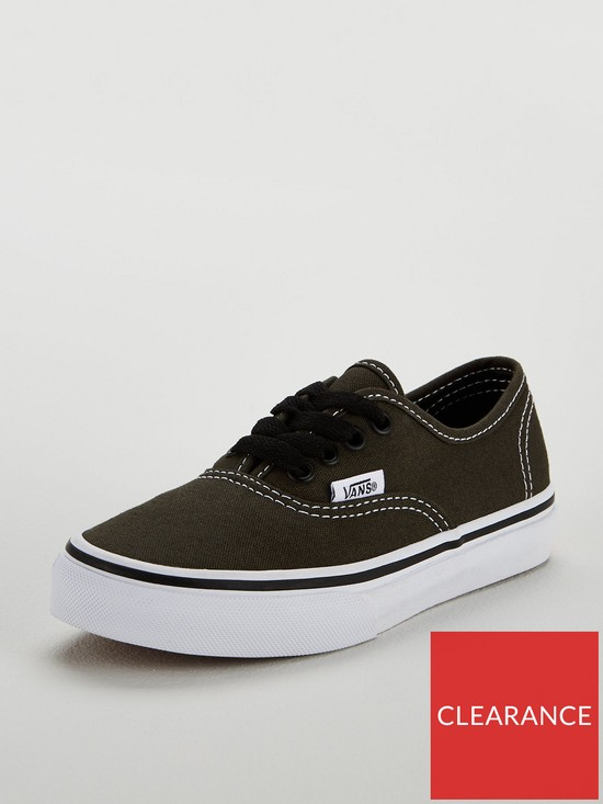 30ef3253b7 Vans Authentic Junior Trainer