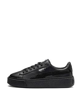puma-puma-basket-platform-bling-junior-trainer