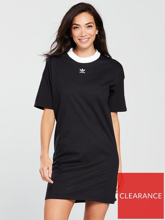 daa3ec651143 adidas Originals Trefoil Dress - Black