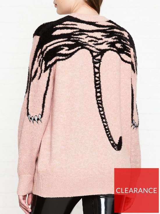 d1d9c6c727 ... Kenzo Claw Tiger Jumper - Pink. View larger